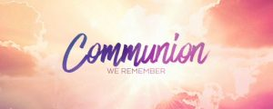 Live Events Stock Media - Resurrection Words Communion