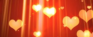 Live Events Stock Media - Glowing pink & red heart particles 2