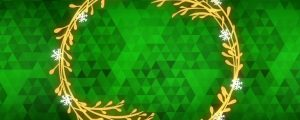 Live Events Stock Media - Peaceful Advent Green 02