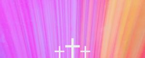 Live Events Stock Media - Chromatic Light Color Flare Cross