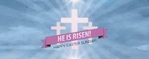 Live Events Stock Media - Risen Banner Easter Welcome