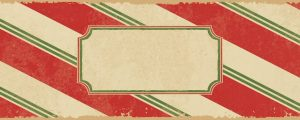 Live Events Stock Media - Candy Cane Blank Plate