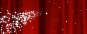 Live Events Stock Media - Starry Curtain Loop - Red