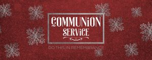 Live Events Stock Media - Trendy Christmas Communion Still