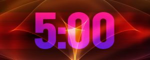 Live Events Stock Media - Kinetic Countdown