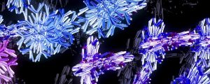 Live Events Stock Media - Snowflakes Colors 03