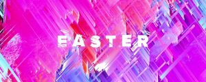 Live Events Stock Media - Color Strokes Easter Still
