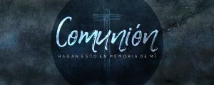 Live Events Stock Media - Quiet Lent Communion Spanish Still