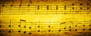 Live Events Stock Media - Gold Textured Music Notes