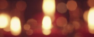 Live Events Stock Media - Red Candles Blur Still