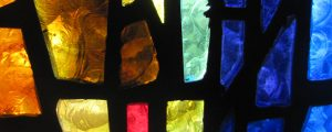 Live Events Stock Media - Stained Glass 2 - Yellow and Blue