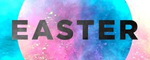 Live Events Stock Media - Color Burst Easter Title