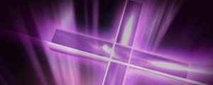 Live Events Stock Media - Abstract Pink & Purple Cross