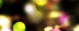 Live Events Stock Media - Colorful Bokeh Pattern