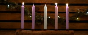 Live Events Stock Media - Country Advent Joy Candles