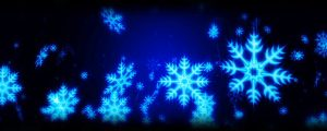 Live Events Stock Media - Light blue winter snowflakes