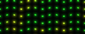 Live Events Stock Media - Dot Waves Green Yellow