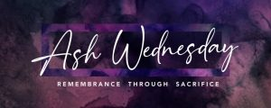 Live Events Stock Media - Lent Canvas Ash Wednesday