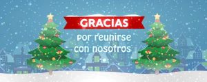 Live Events Stock Media - Christmas Village Closing Spanish