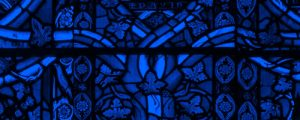 Live Events Stock Media - Sacred Stained Glass - Blue