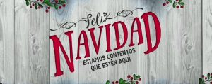 Live Events Stock Media - Wooden Christmas Merry Spanish