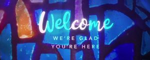 Live Events Stock Media - Glass Mosaic Welcome