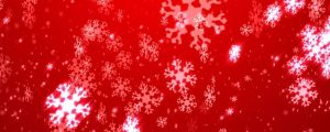 Live Events Stock Media - Glowing white snowflakes