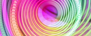 Live Events Stock Media - Spiral Dots Pattern