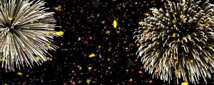 Live Events Stock Media - Confetti with Fireworks Loop