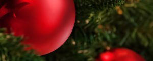 Live Events Stock Media - Red Ornaments