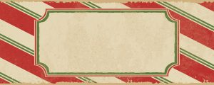 Live Events Stock Media - Candy Cane Still - Text
