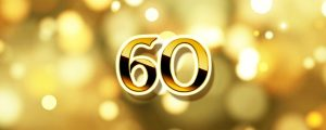Live Events Stock Media - Golden 60 Second Countdown