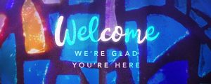 Live Events Stock Media - Glass Mosaic Welcome Still