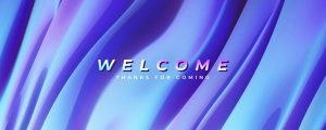 Live Events Stock Media - Color Waves Welcome Still