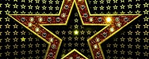 Live Events Stock Media - Large Bling Star