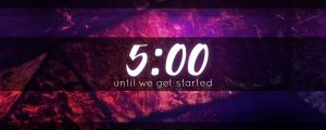 Live Events Stock Media - Stained Glass Countdown