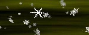Live Events Stock Media - Snowflakes Olive Green Loop