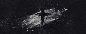 Live Events Stock Media - Painted Ash Cross Black White