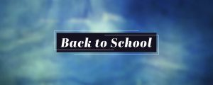 Live Events Stock Media - Cloudy Textures Back to School Still