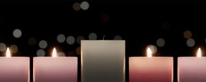 Live Events Stock Media - Advent Candlelight Peace Candles