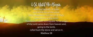 Live Events Stock Media - Easter Hills Scripture Countdown