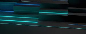 Live Events Stock Media - Racing Blue Lines Across Dark Shapes
