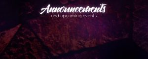 Live Events Stock Media - Stained Glass Announcements