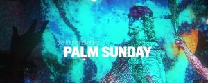 Live Events Stock Media - Holy Week Art Palm Sunday Still