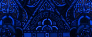 Live Events Stock Media - Stained Glass - Blue