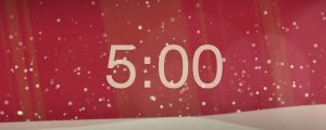 Live Events Stock Media - 5 Minute Christmas Countdown