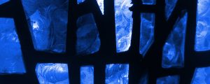 Live Events Stock Media - Stained Glass 2 - Blue