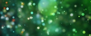 Live Events Stock Media - Colorful Green Bokeh Orbs