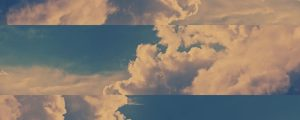 Live Events Stock Media - Towering Clouds Frame