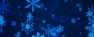 Live Events Stock Media - Abstract Cheer Blue Snowflakes